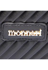 Monnari - Torebka MONNARI - BAG8030-020 Black 2020. Kolor: czarny. Materiał: skórzane. Styl: klasyczny, elegancki, casual