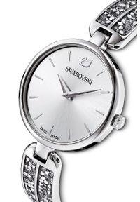 Swarovski - Zegarek 5519309. Kolor: srebrny. Materiał: materiał