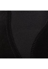 Czarne botki Baldaccini na obcasie, na średnim obcasie