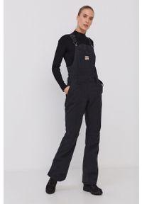 Billabong - Spodnie snowboardowe. Kolor: czarny. Długość: krótkie. Sport: snowboard