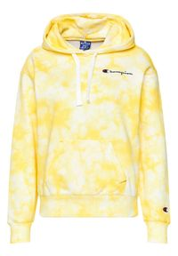 Champion Bluza 113934 Żółty Custom Fit. Kolor: żółty