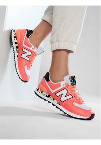 New Balance Sneakersy WL574CU2 Pomarańczowy. Kolor: pomarańczowy. Model: New Balance 574