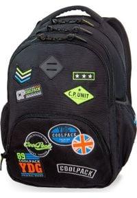 Patio Plecak szkolny Coolpack Cp Badges czarny. Kolor: czarny