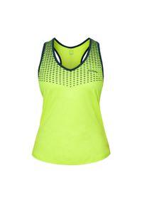 KUIKMA - Koszulka bez rękawów do padla PTK 900 damska. Materiał: poliester, materiał, elastan. Rodzaj stanika: nie wymagający prasowania