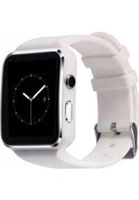 Smartwatch PDS X6 Biały. Rodzaj zegarka: smartwatch. Kolor: biały