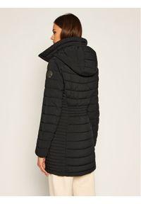 Czarna kurtka zimowa DKNY