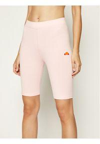 Ellesse Szorty sportowe Tour Cycle SGC07616 Różowy Slim Fit. Kolor: różowy