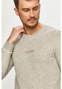 Calvin Klein Underwear - Bluza Ck One. Okazja: na co dzień. Kolor: szary. Wzór: nadruk. Styl: casual
