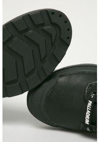 Czarne buty sportowe Palladium z cholewką, na sznurówki