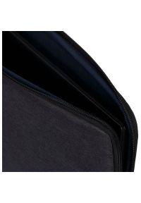 Czarne etui na laptopa RIVACASE eleganckie