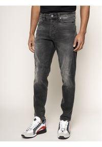 G-Star RAW - G-Star Raw Jeansy Slim Fit Citishield D14456-B455-B207 Czarny Slim Tapered Fit. Kolor: czarny. Materiał: jeans, elastan, bawełna
