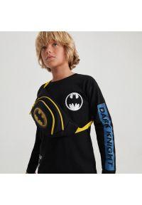 Reserved - Koszulka longsleeve Batman - Czarny. Kolor: czarny. Długość rękawa: długi rękaw. Wzór: motyw z bajki