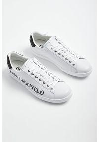 Karl Lagerfeld - SNEAKERSY KARL LAGERFELD. Zapięcie: sznurówki. Materiał: materiał. Wzór: aplikacja, nadruk
