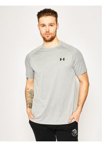 Under Armour T-Shirt UA Tech 2.0 1326413 Szary Regular Fit. Kolor: szary