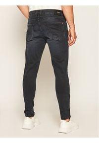 Pepe Jeans Jeansy Skinny Fit Finsbury PM200338 Granatowy Skinny Fit. Kolor: niebieski. Materiał: elastan, poliester, bawełna