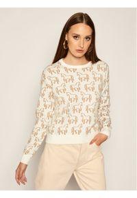 Biały sweter iBlues