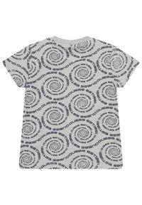 Szary t-shirt Guess
