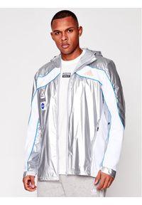 Adidas - adidas Kurtka do biegania Space GK8816 Srebrny Regular Fit. Kolor: srebrny