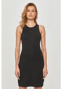 Czarna sukienka Calvin Klein Jeans prosta, mini