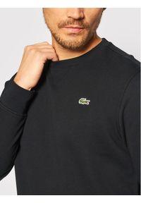 Lacoste Bluza SH1505 Czarny Regular Fit. Kolor: czarny