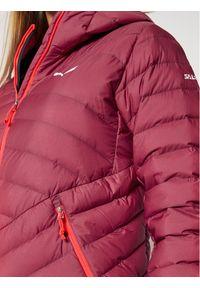 Różowa kurtka puchowa Salewa
