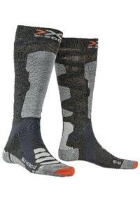X-Socks Skarpety narciarskie Ski Silk merino. Sport: narciarstwo