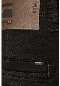 G-Star RAW - G-Star Raw - Spodnie. Kolor: czarny. Materiał: tkanina. Wzór: gładki