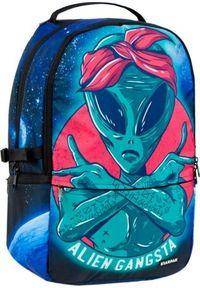 Starpak Plecak szkolny Alien Gangsta niebieski (446578). Kolor: niebieski