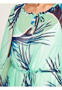 Zielona sukienka Laurèl prosta, casualowa, na co dzień