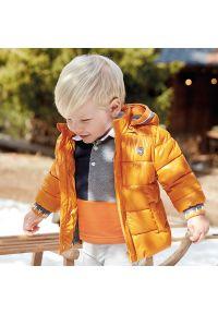 Pomarańczowa kurtka puchowa Mayoral