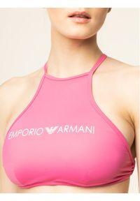 Różowe bikini Emporio Armani