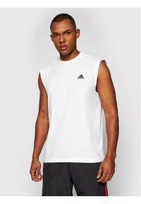 Biały tank top Adidas
