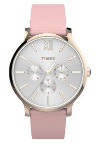 Różowy zegarek Timex