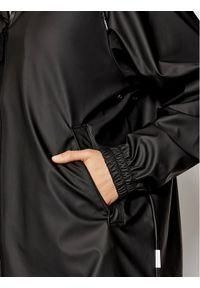 Rains Kurtka przeciwdeszczowa Unisex 1837 Czarny Relaxed Fit. Kolor: czarny