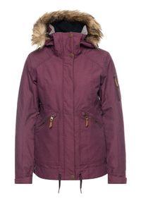 Roxy Kurtka snowboardowa Meade ERJTJ03229 Bordowy Tailored Short Fit. Kolor: czerwony