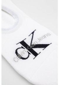 Calvin Klein Jeans - Skarpetki. Kolor: biały