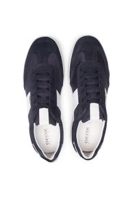 Geox Sneakersy U Kennet A U156FA 01422 C4002 Granatowy. Kolor: niebieski