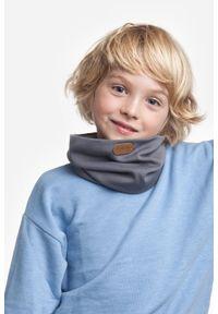 Modny, bawełniany komin dla dziecka PaMaMi - Pistacjowy. Okazja: na spacer. Kolor: zielony. Materiał: bawełna, elastan. Sezon: wiosna #2