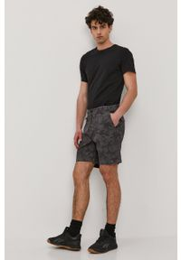 columbia - Columbia - Szorty jeansowe. Kolor: szary. Materiał: jeans #2