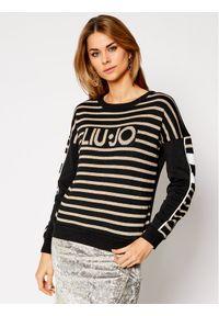 Czarny sweter klasyczny Liu Jo Sport