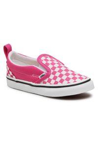 Vans Tenisówki Slip-On V VN0A348830Z1 Różowy. Zapięcie: bez zapięcia. Kolor: różowy