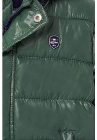 Zielona kurtka Mayoral z kapturem, na co dzień
