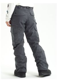 Szare spodnie sportowe Burton snowboardowe