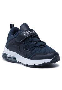 Kappa - Sneakersy KAPPA - Yaka K 260890K Navy/White 6710. Okazja: na co dzień. Zapięcie: rzepy. Kolor: niebieski. Materiał: skóra ekologiczna, materiał. Szerokość cholewki: normalna. Styl: casual