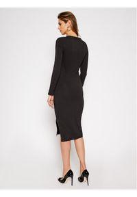 Superdry Sukienka codzienna Nyc Mesh Panel W8010378A Czarny Relaxed Fit. Okazja: na co dzień. Kolor: czarny. Materiał: mesh. Typ sukienki: proste. Styl: casual