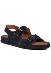 Niebieskie sandały Go Soft klasyczne, na lato
