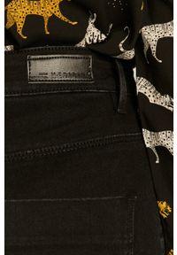 Czarne jeansy medicine w kolorowe wzory #4