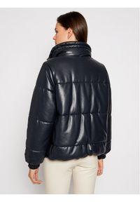 Czarna kurtka skórzana Sportmax Code