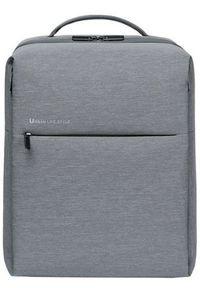 Xiaomi City Backpack 2 (26401) light gray. Materiał: materiał. Wzór: paski. Styl: elegancki
