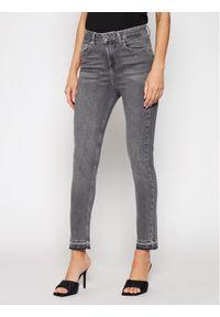Szare jeansy slim Liu Jo